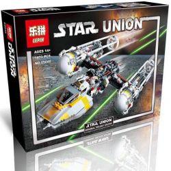 Lepin 05040 Star wars 10134 Y-Wing Attack Starfighter Xếp hình Phi Thuyền Chiến Đấu Cánh Chữ Y 1473 khối