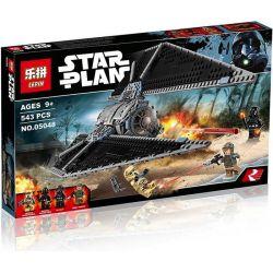 Lepin 05048 Lele 35008 Star Wars 75154 TIE Striker Xếp Hình Phi Thuyền Tấn Công TIE 543 Khối