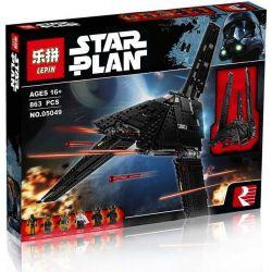 Lepin 05049 Lele 35010 Star wars 75156 Krennic's Imperial Shuttle Xếp hình Phi Thuyền Thoi Hoàng Đế 863 khối