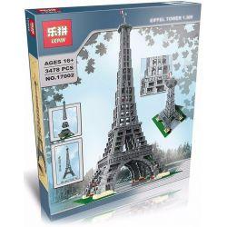 Lepin 17002 Lele 30009 Creator Expert Exclusives Sculptures Architecture 10181 Eiffel Tower Xếp hình tháp Eiffel 3478 khối