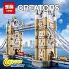 Lego Creator Expert 10214 Lepin 17004 Lele 30001 Tower Bridge Xếp hình cầu tháp London 4259 khối