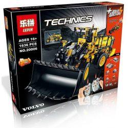 Lepin 20006 Technic 42030 Volvo L350F Wheel Loader Xếp hình Máy Xúc Lật Điều Khiển Từ Xa 1636 khối