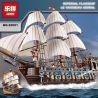 Lepin 22001 Lele 39010 (NOT Lego Creator Expert 10210 Imperial Flagship ) Xếp hình Tàu Chiến Hoàng Gia 1717 khối