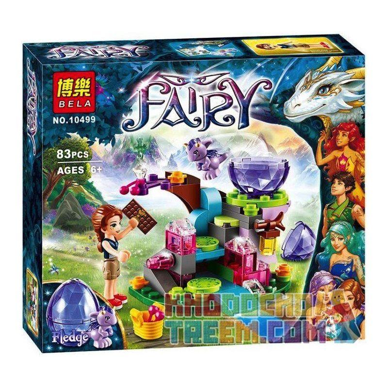Bela 10499 Elves 41171 Emily Jones & the Baby Wind Dragon Xếp hình Emily Jones và chú rồng gió bé 83 khối