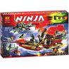 Lepin 06020 Bela 10402 Lele 79125 Sheng Yuan 393 SY393 (NOT Lego Ninjago Movie 70738 Final Flight Of Destiny's Bounty ) Xếp hình Chuyến Bay Cuối Của Phi Thuyền Chỉ Huy 1325 khối