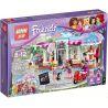 Lego Friends 41119 Bela 10496 Lepin 01002 Lepin 01031 Sheng Yuan SY579 Heartlake Cupcake Cafe Xếp hình tiệm cafe bánh ngọt Hồ Trái Tim 444 khối