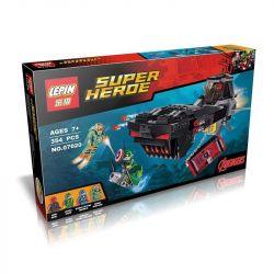 Decool 7119 Lepin 07020 Sheng Yuan SY577 Super Heroes 76048 Iron Skull Sub Attack Xếp hình cuộc tấn công của phi thuyền Đầu Lâu Sắt 335 khối