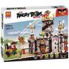 Lego Angry Birds 75826 Lepin 19006 Bela 10510 King Pig's Castle Xếp hình cuộc chiến tại pháo đài vua trộm 917 khối