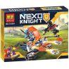 Lepin 14010 Bela 10484 (NOT Lego Nexo Knights 70310 Knighton Battle Blaster ) Xếp hình Cỗ Xe Kị Sĩ Chiến Đấu 90 khối