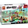 Lego Angry Birds 75824 Lepin 19004 Bela 10508 Pig City Teardown Xếp hình tấn công thành phố trộm cắp 168 khối