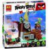Lego Angry Birds 75825 Lepin 19005 Bela 10509 Piggy Pirate Ship Xếp hình tàu cướp biển của siêu trộm 650 khối