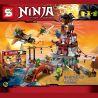 Lepin 06037 Bela 10528 Lele 79346 Sheng Yuan 597 SY597 (NOT Lego Ninjago Movie 70594 The Lighthouse Siege ) Xếp hình Bảo Vệ Pháo Đài Hải Đăng 850 khối