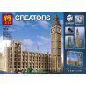 Lego Creator Expert 10253 Lepin 17005 Lele 30003 Big Ben Elizabeth Tower Xếp hình tháp đồng hồ Big Ben 4163 khối