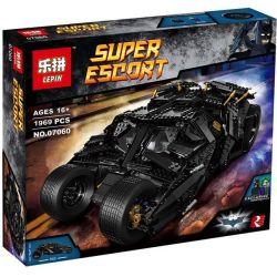 Decool 7111 Lele 34005 Lepin 07060 (NOT Lego DC Comics Super Heroes 76023 The Tumbler ) Xếp hình Siêu Xe Tumbler Của Người Dơi 1869 khối