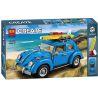 Lego Creator 10252 Lepin 21003 Bela 10566 Yile 003 Volkswagen Beetle Xếp hình ô tô con bọ Volkswagen Beetle 1193 khối