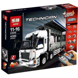 Lepin 23008 Technic MOC-1389 Wing Body Truck Xếp hình Xe tải có cánh điều khiển từ xa 4380 khối