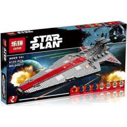 Lepin 05077 Star wars MOC-0694 Republic Cruiser Venator (Ucs) Xếp hình Tàu Tuần Dương Cỡ Siêu Khủng Của Nền Cộng Hòa 6125 khối