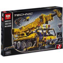 Lepin 20068 (NOT Lego Technic 8421 Mobile Crane ) Xếp hình Cần Trục Di Động 1884 khối