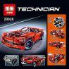 Lepin 20028 Technic 8070 Super Car Xếp hình Siêu Xe Động Cơ Pin 1281 khối