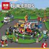 Lego Creator 10244 Lepin 15014 Fairground Mixer Xếp hình Khu vui chơi 1858 khối