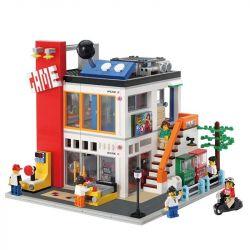 Lepin 15029 Creator MOC Modular Buildings The Cool Children Gaming Room Xếp hình Trung tâm trò chơi 1551 khối