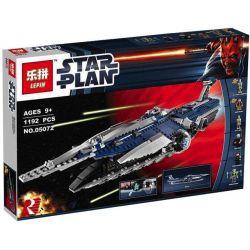 Lepin 05072 Star wars 9515 The Malevolence Xếp hình Soái Hạm Của Tổng Chỉ Huy Grievous 1192 khối