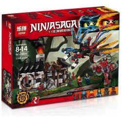 Lepin 06041 Sheng Yuan SY861 Bela 10584 Ninjago 70627 Dragon's Forge Xếp hình Sức mạnh của rồng 1158 khối