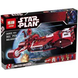 Lepin 05070 Star wars 7665 Republic Cruiser Xếp hình Phi Thuyền Chiến Đấu Phe Cộng Hòa 963 khối