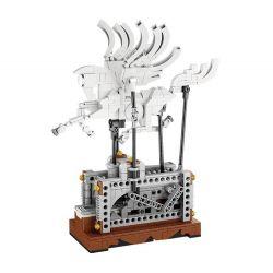 Lego Technic MOC Lepin 23015 Pegasus Automaton Xếp hình Ngựa thần có cánh động cơ pin 485 khối