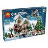 Lego Creator 10249 Lele 39015 Lepin 36002 Winter Toy Shop Xếp hình Cửa hàng đồ chơi mùa đông 945 khối