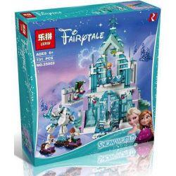 Lepin 25002 Sheng Yuan SY868 Decool 70217 Bela 10664 Lele 37016 Disney Princess 41148 Elsa's Magical Ice Palace Xếp hình Cung Điện Băng Huyền Bí Của Elsa 731 khối
