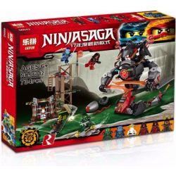 Lepin 06042 Bela 10583 Ninjago 70626 Dawn of Iron Doom Xếp hình Đại chiến rắn khổng lồ 734 khối