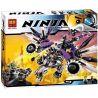 Bela 10224 Lele 31039 Ninjago 70725 Nindroid MechDragon Xếp hình Rô bốt rồng máy 690 khối