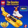 Lego Creator 21306 Lepin 21012 The Beatles: Yellow Submarine Xếp hình The Beatles: Tàu ngầm vàng 553 khối