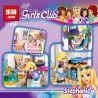 Lego Friends 41314 Lepin 01014 Stephanie's House Xếp hình Nhà của Stephanie 622 khối