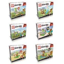 Lepin 19007 (NOT Lego Angry Birds Six New Angry Birds ) Xếp hình Sáu Con Chim Điên Mới 377 khối