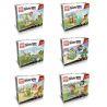 Lepin 19007 Angry Birds Six New Angry Birds Xếp Hình Sáu Con Chim điên Mới 377 Khối