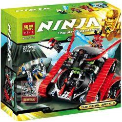 Bela 9794 Ninjago 70504 Garmatron Xếp hình Chúa tể hắc ám Garmatron 335 khối