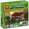 Bela 10176 Lele 79045 Lepin 18017 Tenma TM7423 (NOT Lego Minecraft 21115 The First Night ) Xếp hình Đêm Đầu Tiên 408 khối
