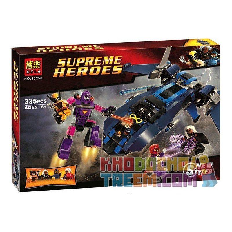 Bela 10250 Sheng Yuan 308 SY308 (NOT Lego Marvel Super Heroes 76022 The Sentinel ) Xếp hình Các Sentinel 336 khối