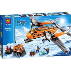 Lego City 60064 Bela 10441 Arctic Supply Plane Xếp hình Máy bay tiếp tế vùng cực 391 khối