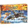Lego Chima 70228 Bela 10353 Lepin 04017 Vultrix's Sky Scavenger Xếp hình Người nhặt rác trên trời của Vultrix 479 khối