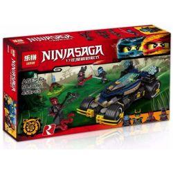 Lepin 06046 Lele 31026 Bela 10582 Ninjago Movie 70625 Samurai VXL Xếp Hình Siêu Xe Bọc Thép Samurai VXL 458 Khối