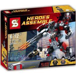Sheng Yuan 362A+B SY362A+B (NOT Lego Wolverine ) Xếp hình Wolverine 278 khối
