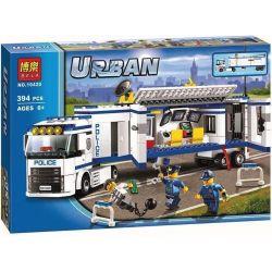 Lego City 60044 Bela 10420 Mobile Police Unit Xếp hình Đơn vị cảnh sát di động 394 khối
