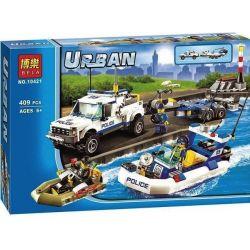 Lego City 60045 Bela 10421 Police Patrol Xếp hình Cảnh sát tuần tra 409 khối