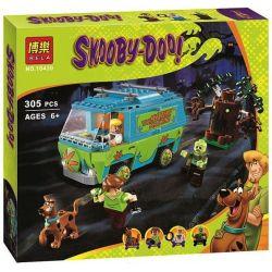 Bela 10430 Scooby-Doo 75902 The Mystery Machine Xếp hình Máy Mystery 305 khối