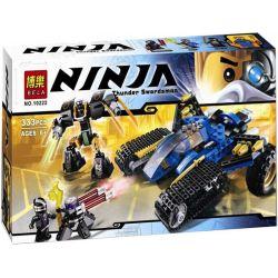 Bela 10222 (NOT Lego Ninjago Movie 70723 Thunder Raider ) Xếp hình Cỗ Máy Chiến Đấu Tia Chớp 334 khối