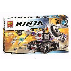 Bela 10221 (NOT Lego Ninjago Movie 70726 Destructoid ) Xếp hình Cỗ Máy Hủy Diệt 253 khối