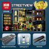 Lepin 15019 15019B Lele 30019 (NOT Lego Creator Expert 10255 Assembly Square ) Xếp hình Quảng Trường Nhộn Nhịp Có Đèn 4122 khối